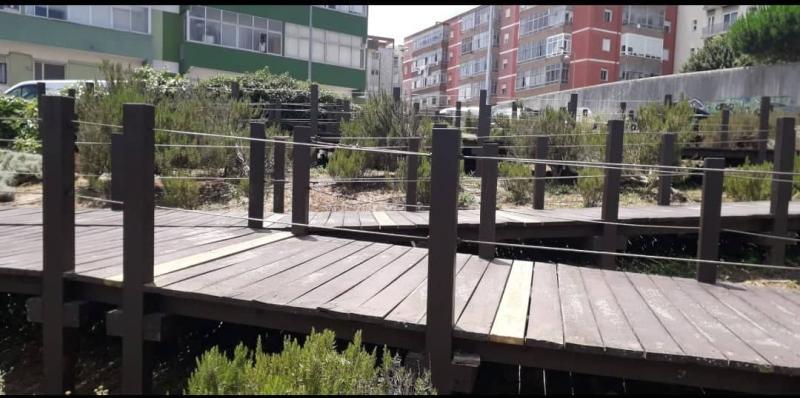Passadiço do Parque Urbano e Linear D. Domingos Jardo
