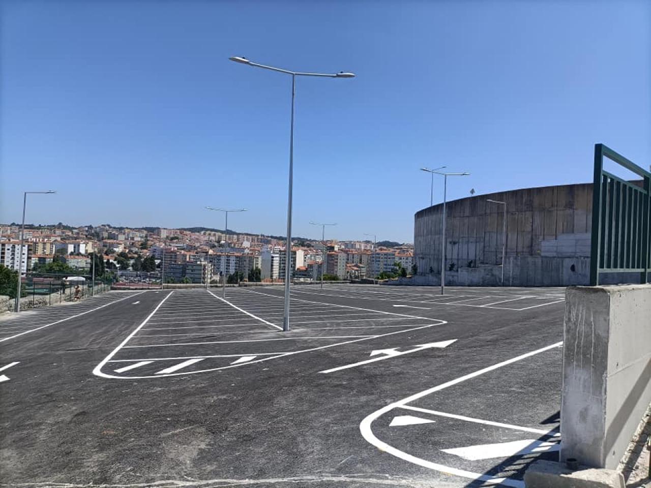 Abertura do Parque de estacionamento no Casal do Cotão