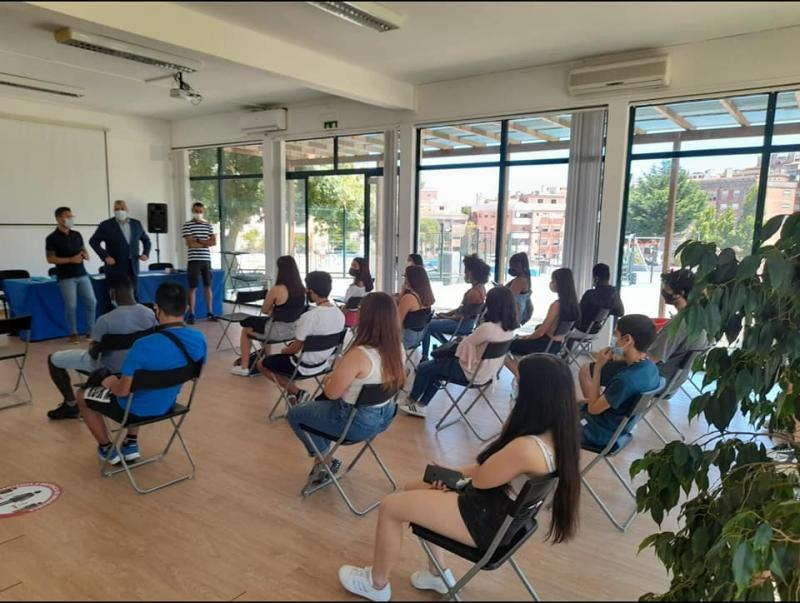 Acolhimento dos Jovens - Programa Voluntariado Sintra Jovem 2021