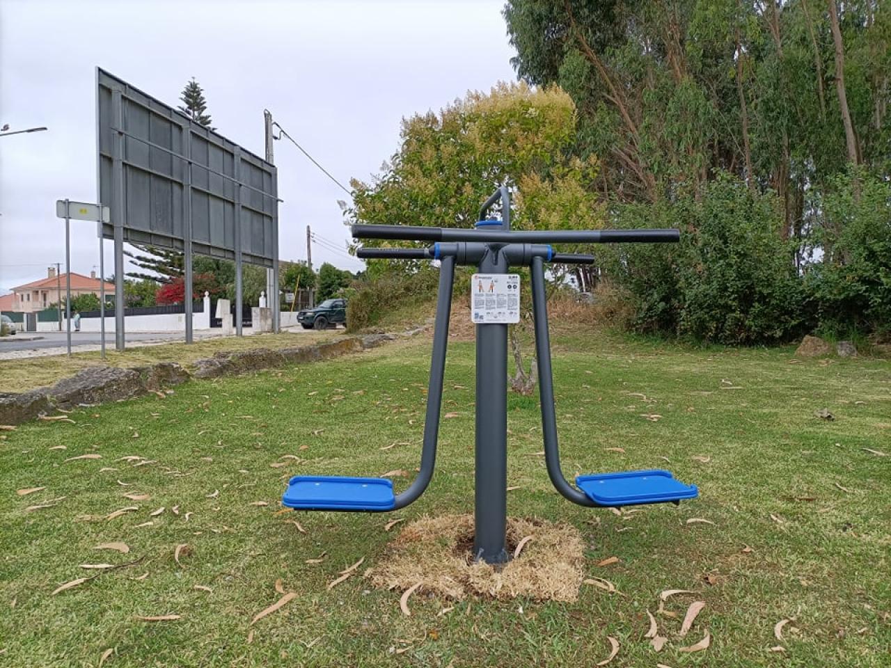 Parque de fitness ao ar livre - Jardim da Rua Marquês de Pombal