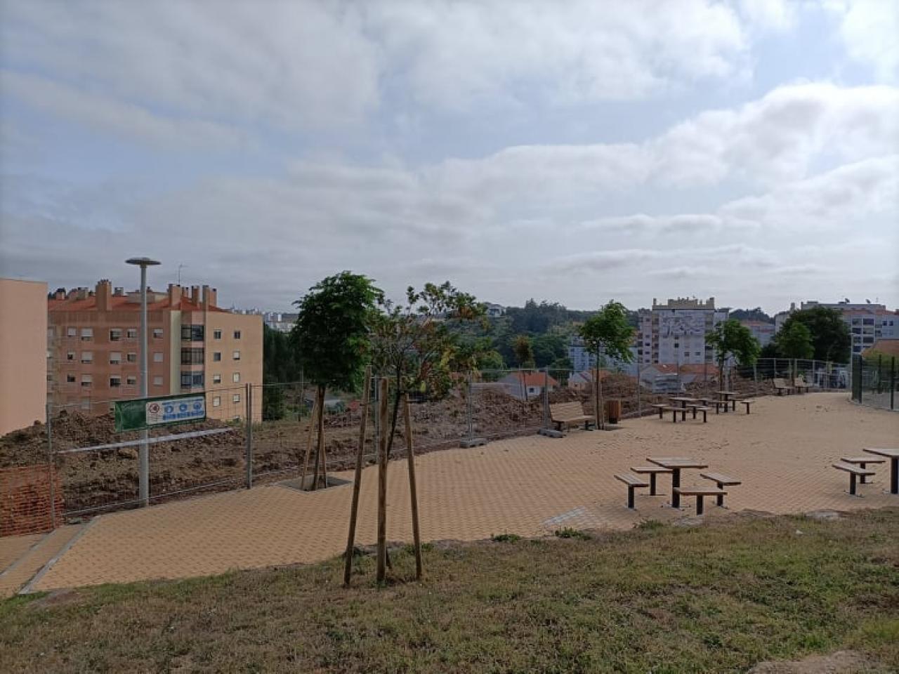 Início dos trabalhos do Parque de Lazer da Rua das Colegiadas/Rua de São Paulo